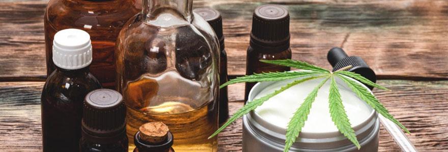 Produits naturels à base de CBD